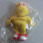 Bassett's Jelly Babies Bubbles plush beanie toy in baggie @sold@